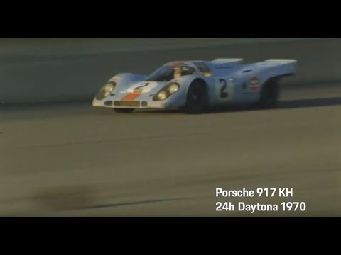 Porsche at the 24h of Daytona 2018 - Ready to defend our legacy: Porsche 917 KH.