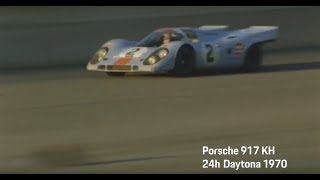 Porsche at the 24h of Daytona 2018 – Ready to defend our legacy: Porsche 917 KH.