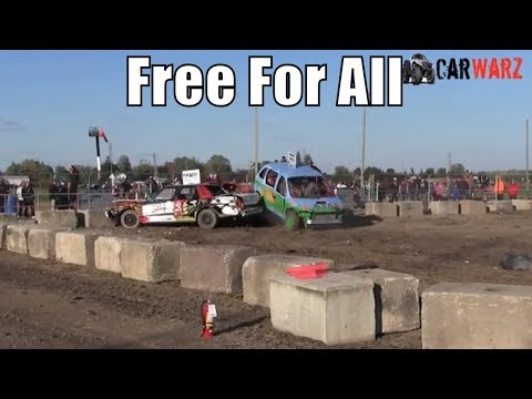 Free For All Class At Brigden Fair Demolition Derby 2018 Camera 2