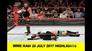 WWE Raw 20 July 2017 | WWE Raw 20/7/2017 | WWE Raw 7/20/2017 Full match highlights