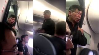 All angles of Doctor dragged from United Airlines flight