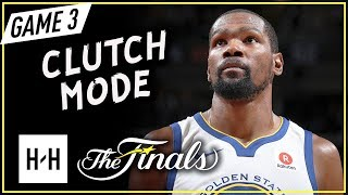 Kevin Durant Full Game 3 Highlights vs Cavaliers 2018 Finals - 43 Pts, 13 Reb, CLUTCH