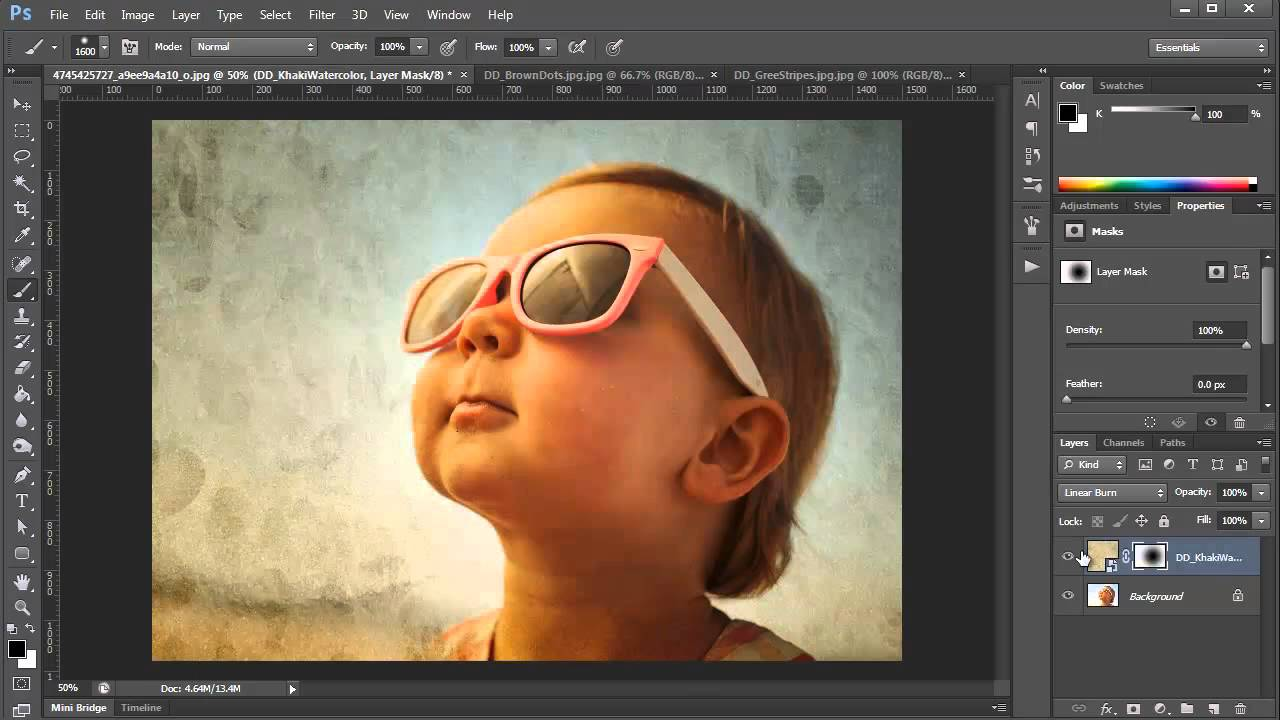 How To Create Photo Overlays And Patterns For Layer Styles