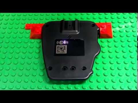 AINA PTT Voice Responder back cover laser test