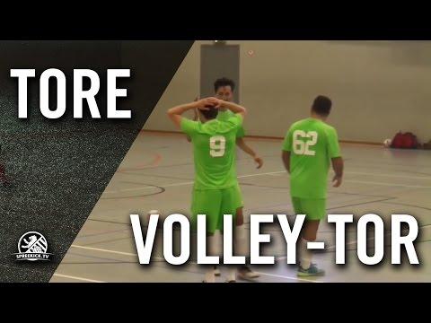 Wunderschönes Volley-Tor von Onur Atesavci (Buntesrepublik Futsal) | SPREEKICK.TV