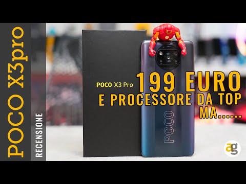 Recensione POCO X3 pro 199 euro e PROCES …
