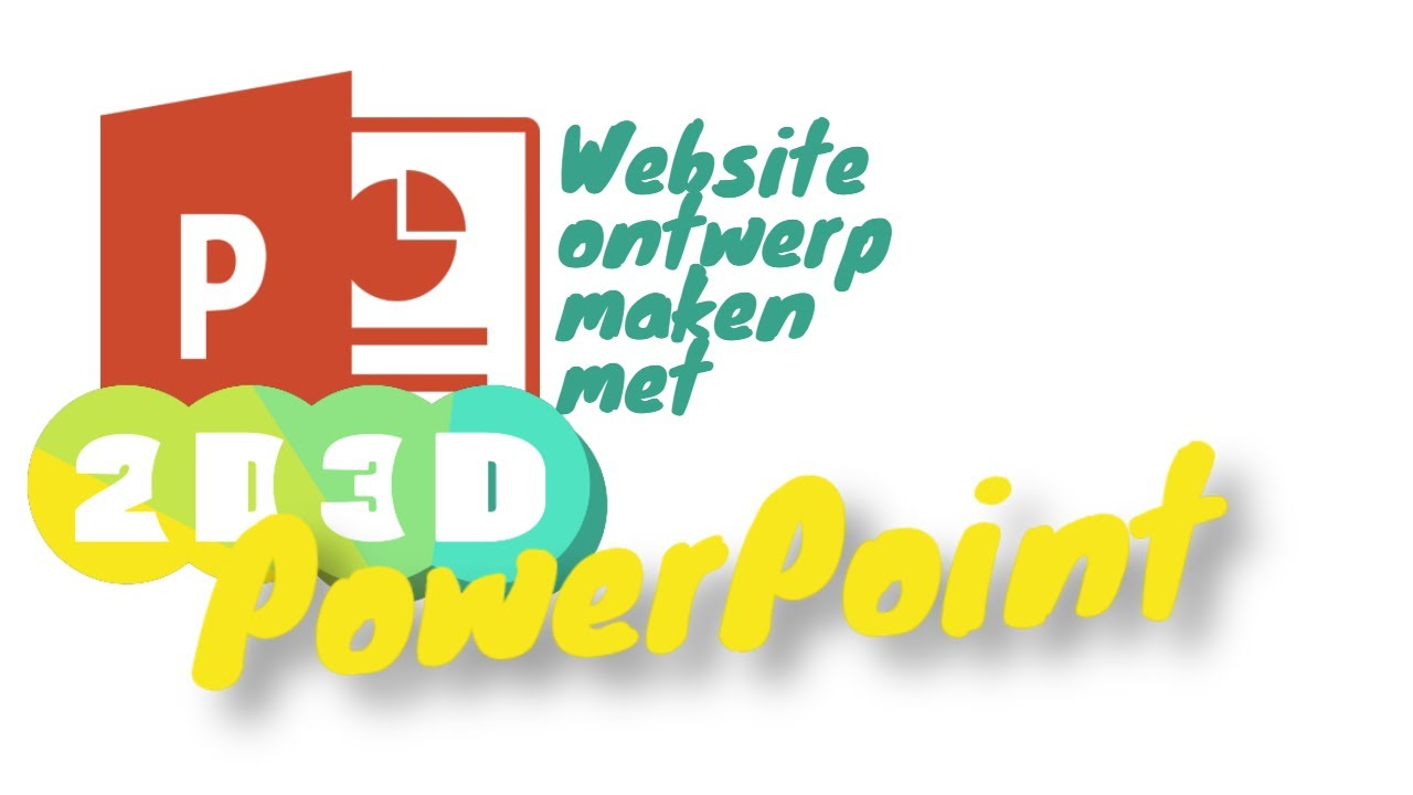 Website schets maken in PowerPoint