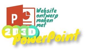 Website schets maken in PowerPoint