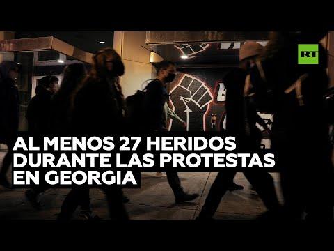 Al menos 27 heridos en Georgia durante protestas por las elecciones parlamentarias
