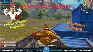 no scope kar98k shot with awm headshot PUBG Highlight #PUBGM #PKGAMER