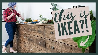 EXTREME IKEA HACK!!! DIY Apothecary Buffet Cabinet | The Diaries of DIY Danie