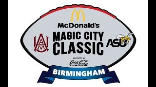 2019 78th Magic City Classic Alabama A&M vs  Alabama State
