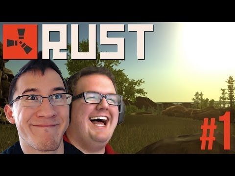 LAUGHING TIL IT HURTS   Rust Gameplay #1 - Smashpipe Games