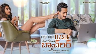 Akhil Akkineni's Most Eligible Bachelor new poster release..