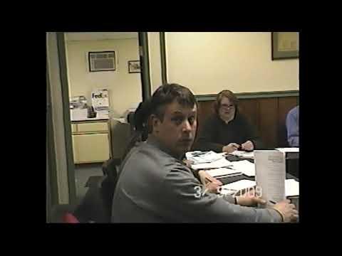 Champlain Village Board Meeting  3-9-09