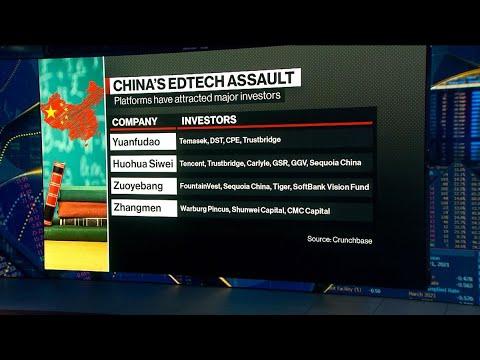 EdTech Giants Adjust to New China Reality