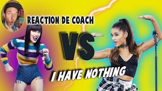 ARIANA GRANDE, JESSIE J - I HAVE NOTHING // REACTION DE COACH