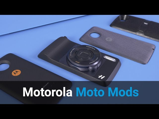Belsimpel-productvideo voor de Motorola Moto Z2 Play 64GB Gold