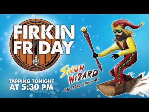 Firkin Friday - Snow Wizard