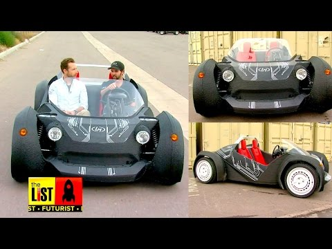 The World's First 3D-Printed Car Exclusive
