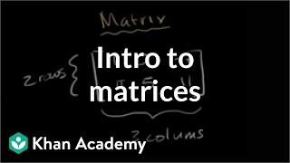 Introduction to the matrix