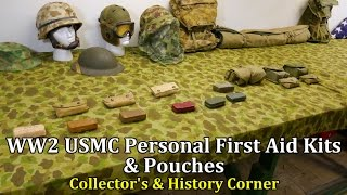 World War 2: USMC Personal First Aid Kits and Pouches | Collector's & History Corner