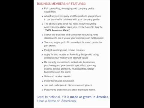 Ameriloop Business Features Video