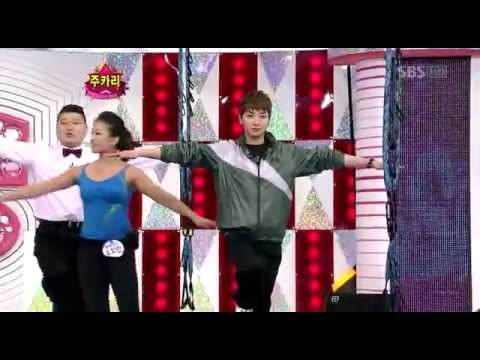 Kangin and Leeteuk very funny.flv