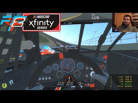 RFACTOR 2 (PC) - Stock Car Xfinity Series en DAYTONA OVAL || Gameplay en Español