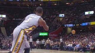 Jr Smith Shows How He Threw the Soup That Got Him Suspended By the Cavaliers!