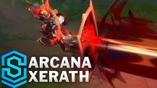 Arcana Xerath Skin Spotlight - Pre-Release - League of Legends