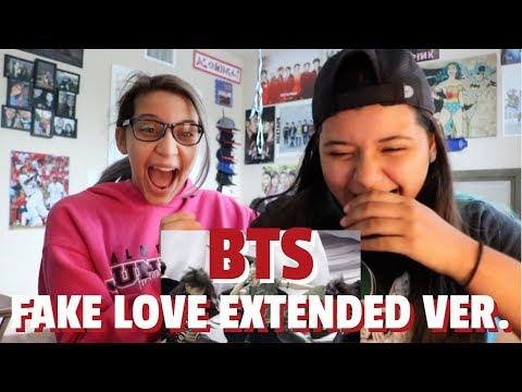 BTS 'FAKE LOVE' MV (Extended ver.) REACTION!!!