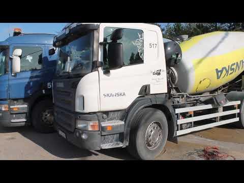 Scania Betongbil P360L Reg.nr: CJX235 med påbyggnad. -2011 272133 km