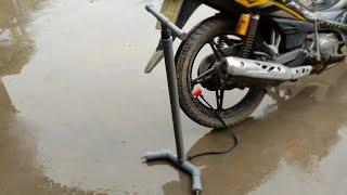cách làm bơm xe đạp,xe máy từ ống nhựa PVC cực đơn giản [choidehoczzz]