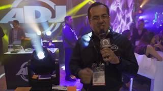 AMERICAN DJ FOCUS SPOT 4Z PEARL BUNDLE in action