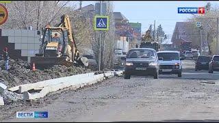 В Омске на проведение ямочного ремонта дорог выделено более ста миллионов рублей