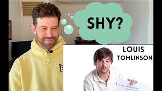 Louis Tomlinson's Conversation Skills | Reaction & Analysis