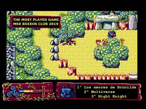 The Most Played Game MSX Boixos Club 2019