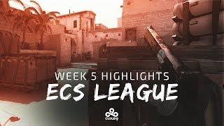 Cloud9 CS:GO - ECS League | Week 5 Highlights (Season 4)