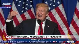 FULL SPEECH: President Trump speaks at National Realtors conference