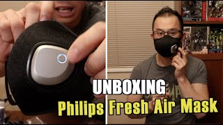 PHILIPS FRESH AIR MASK Unboxing and Review by Alex Yu