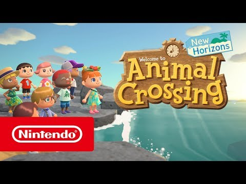 Animal Crossing: New Horizons - Bande-annonce de l'E3 2019 (Nintendo Switch)