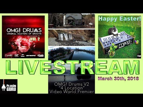 "March 31st, 2018 - OMG! Drums ""4 Location"" Video, Tips & Tricks & More!"