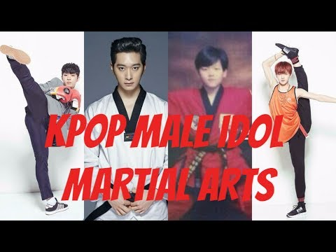 SEVENTEEN X PRODUCE 101 X NCT X BTS & OTHERS - KPOP MALE IDOL MARTIAL ARTS