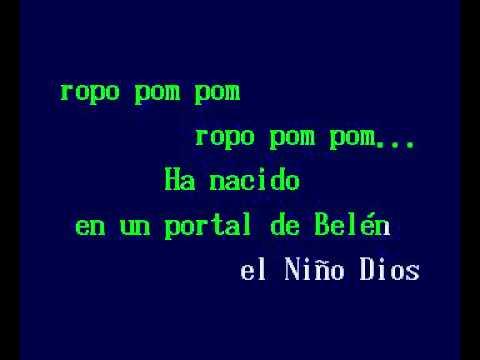 El Nino Del Tambor (karaoke navideño))