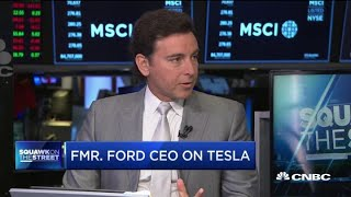 Tesla and electric vehicle demand: Former Ford CEO Mark Fields