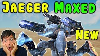 New JAEGER Sniper Mk2 MAXED - One Hit Kill? War Robots Live Gameplay WR
