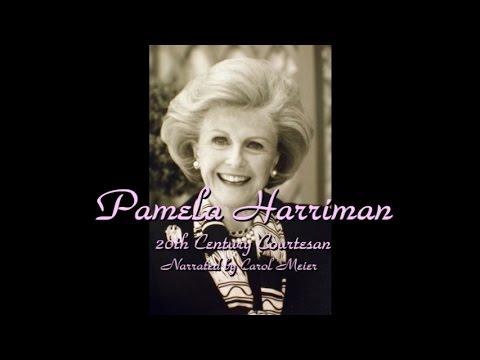 Pamela Churchill Harriman-20th Century Courtesan- Her wealthy Lovers