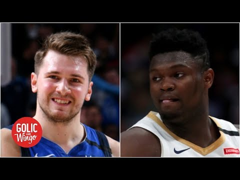 Higher ceiling between Luka or Zion? Doris Burke doesn't want to answer! | Golic and Wingo