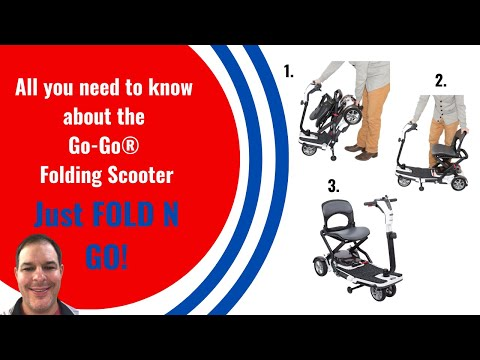 Fold N Go Mobility Scooter